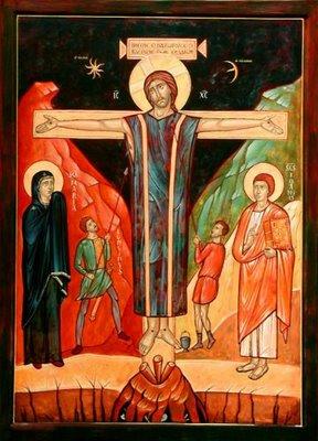 crucifiction début moyen age